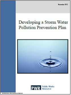 Developing a Storm Water Pollution Prevention Plan